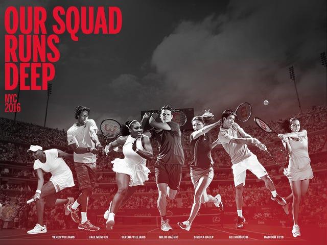 Wilson Tennis Advisory Staff 2016 US Open Good Luck
