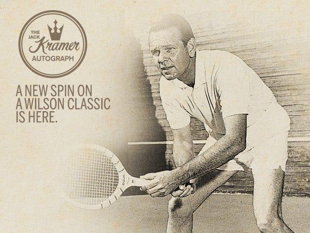 Jack Kramer Retro Wilson Tennis Racket