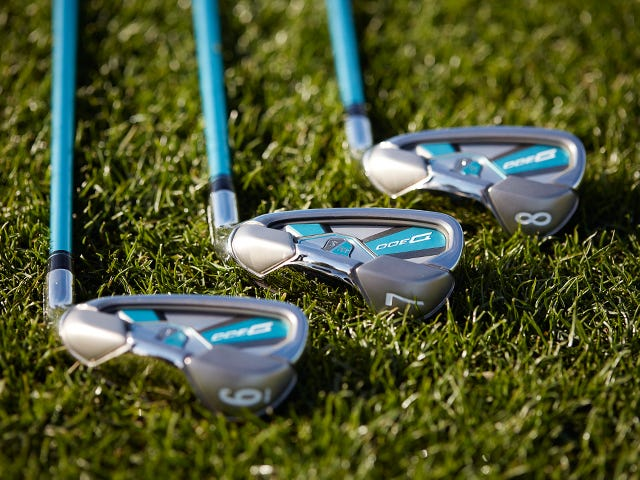 wilson staff ladies demo irons
