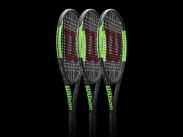 Wilson Select Team - 3 Racket Package