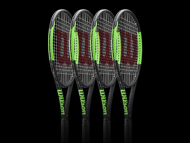 Wilson Select Team - 4 Racket Package