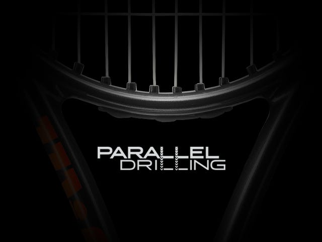 Wilson Tennis Racket Parallel Drilling Technology