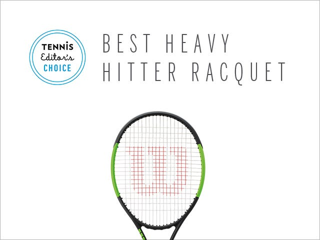 Tennis Magazine's Best Heavy Hitter Tennis Racket - Blade SW 104