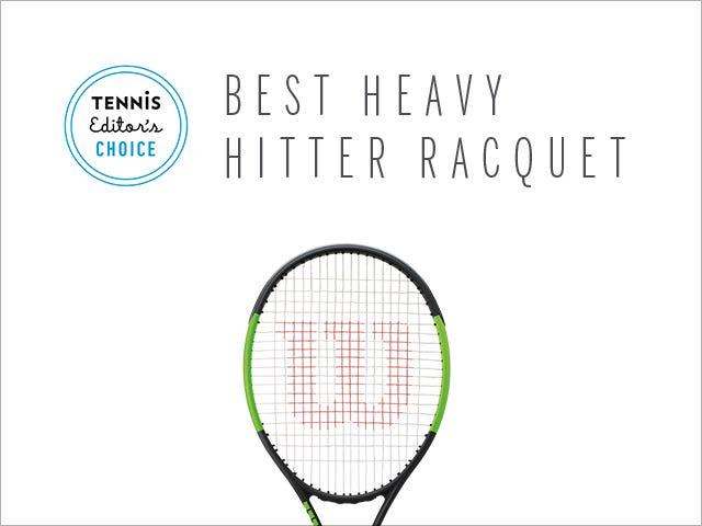 """Best Heavy Hitter"" (Migliore potenza in battuta) secondo Tennis Magazine – Blade SW 104"