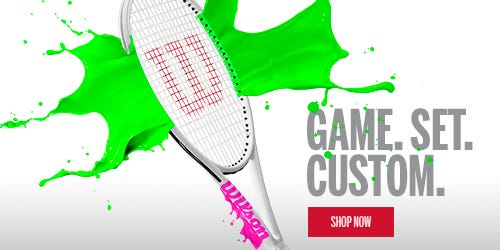 Wilson Custom Tennis Rackets