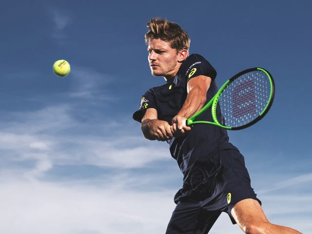 Wilson Tennis Advisory Staff - DAVID GOFFIN