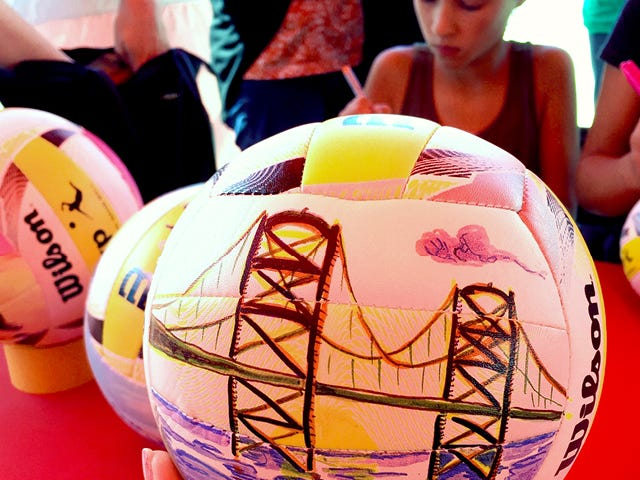 AVP City Volleyballs - San Franciso