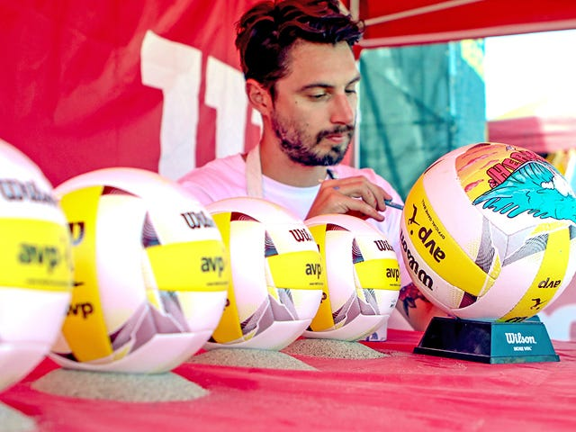 AVP City Volleyballs - Hermosa Beach