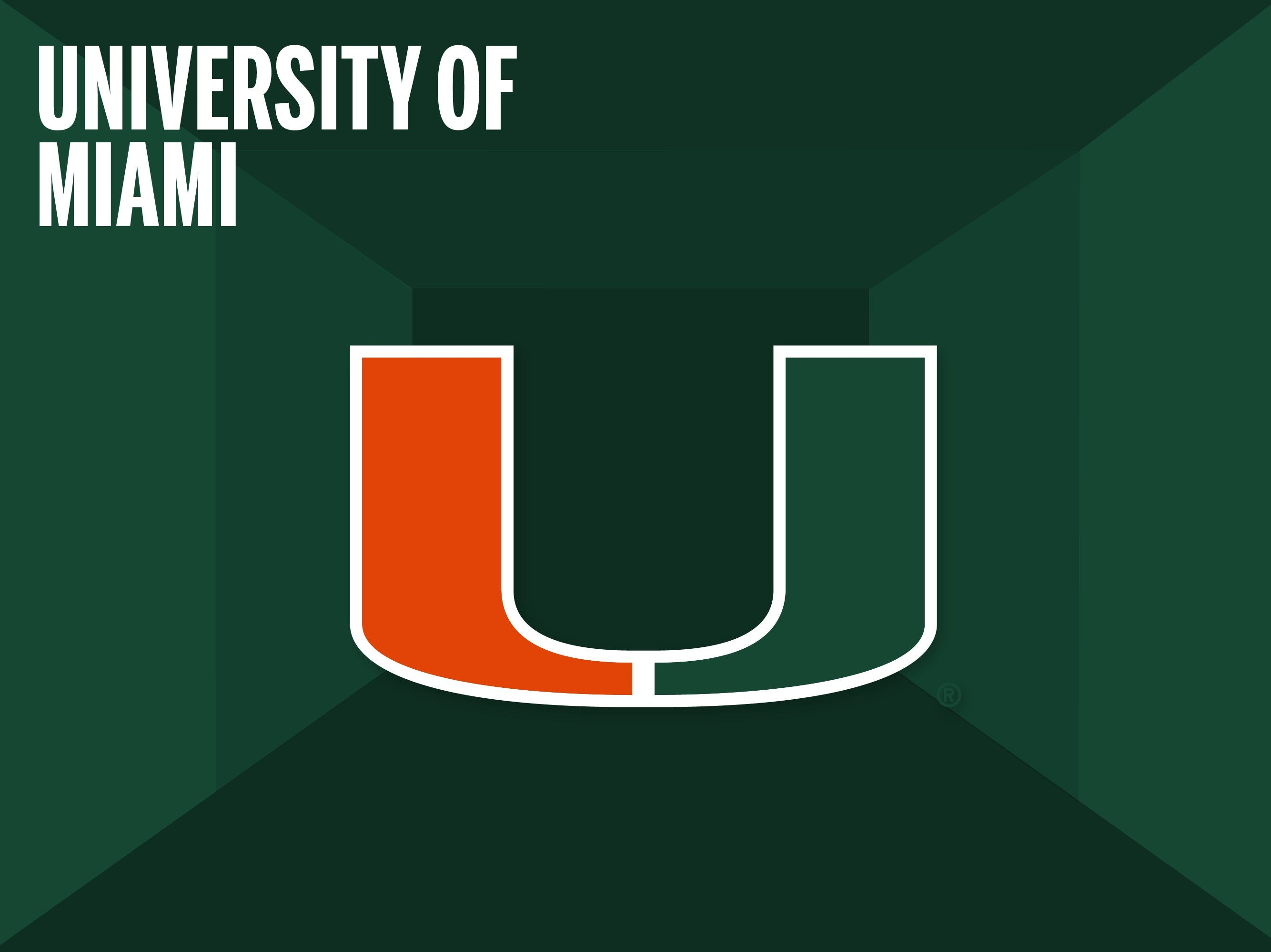 University of Miami College Football Shop
