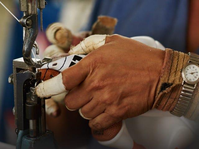 CFP Football - hand sewn