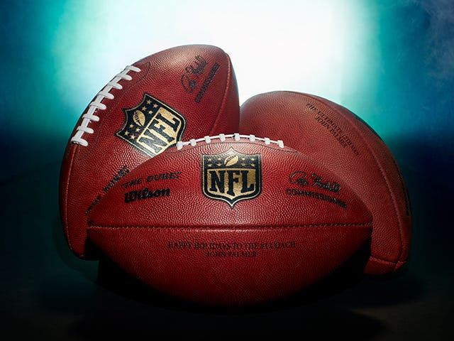 Wilson Laser Engraved Footballs