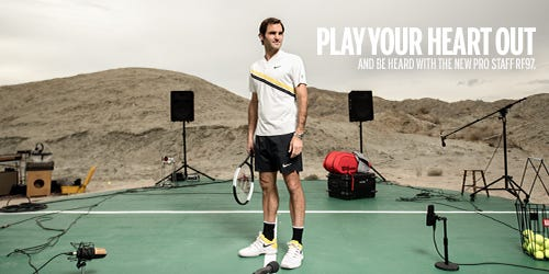 Pro Staff RF97 Tennis Racket | Play Your Heart Out | Wilson Sporting Goods