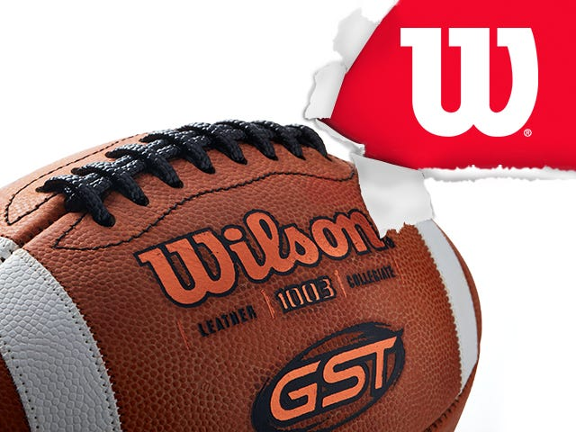 Wilson GST Football, Number 1 Game Ball