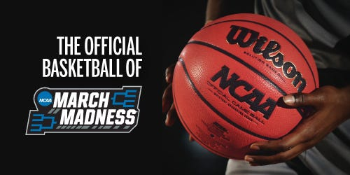 Wilson Basketball The Official Ball of March Madness