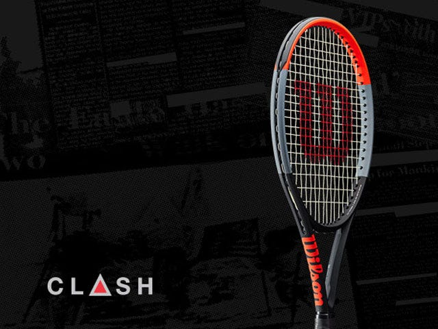 Wilson Clash 100UL 265G strung with synthetic gut for free