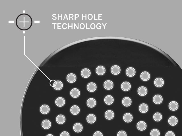 Sharp Hole Technology in paddle bat face