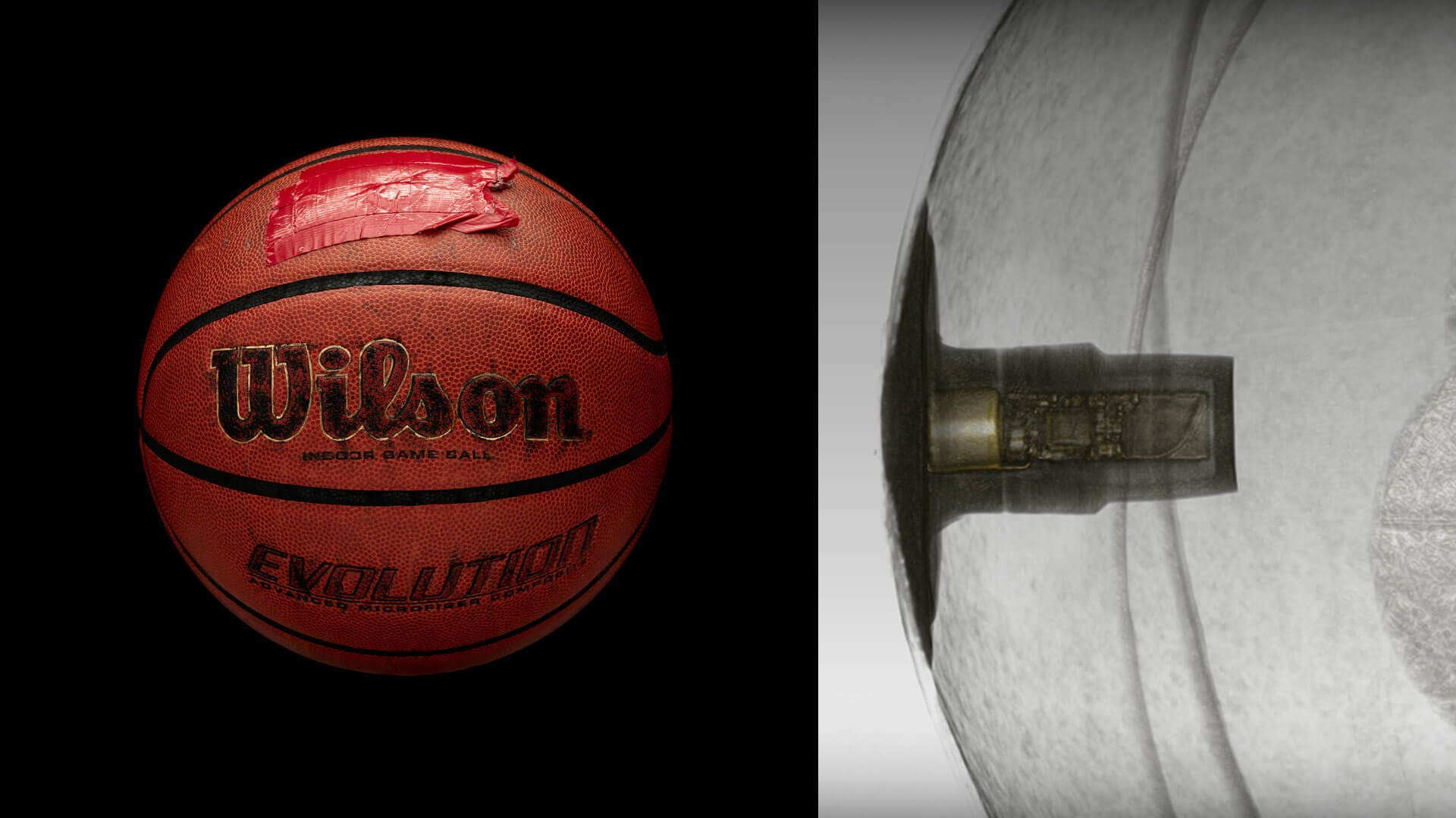 Wilson X Connected Basketball Prototypes