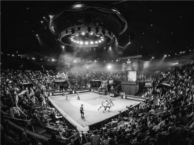 FIBA 3x3 Court and Arena