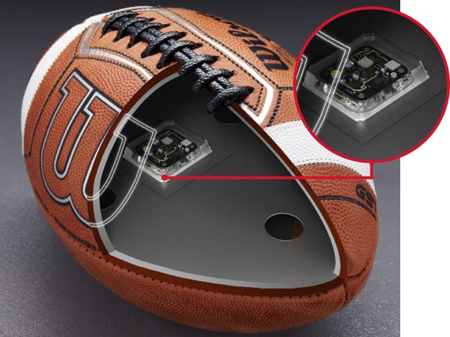Wilson Connected Football System
