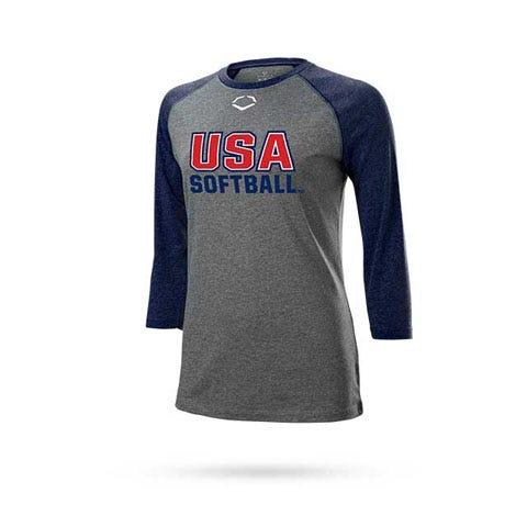team usa half sleeve shirt