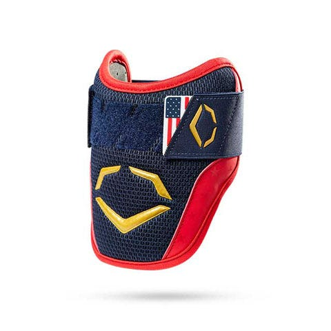 Blue softball elbow guard
