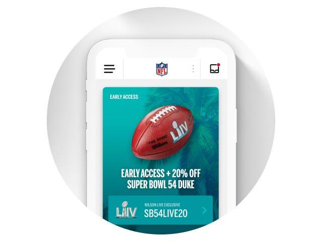 Wilson NFL Duke Official Football - Live Enabled