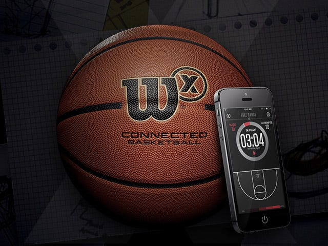 Wilson LABS - Wilson X Connected Basketball
