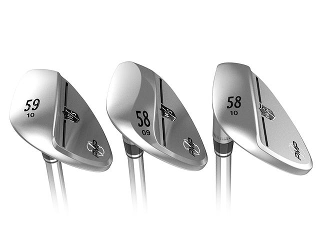 3 sole designs provide ideal loft and bounce variables and custom fitting