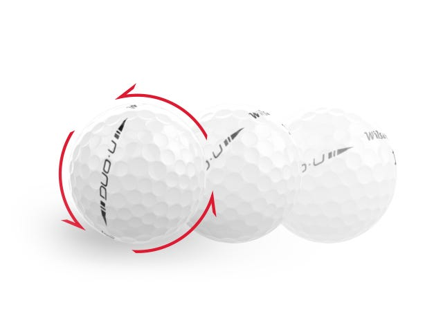 Provides a higher launch angle with increased spin