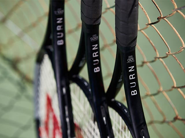 Burn V4 Tennis Rackets