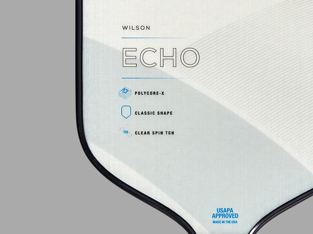 Wilson Echo Pickleball Paddle
