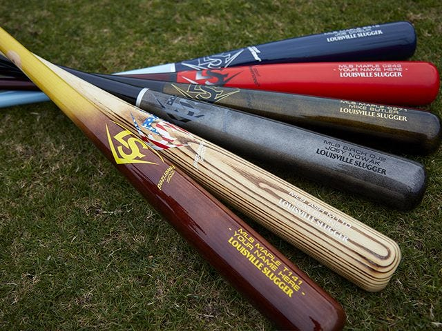 Custom MLB Prime Baseball Bats