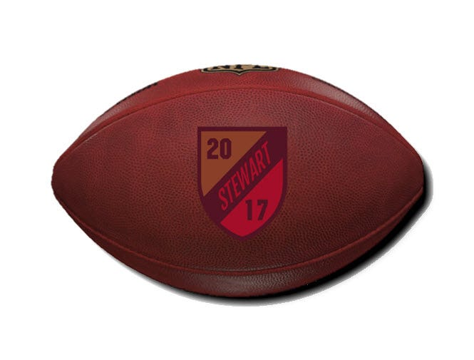 Custom Decal Game Ball