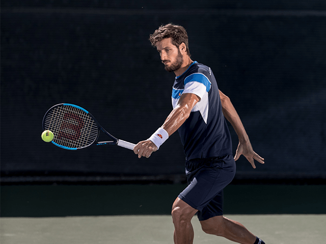 Personal de publicidad de Wilson Tennis: Feliciano López