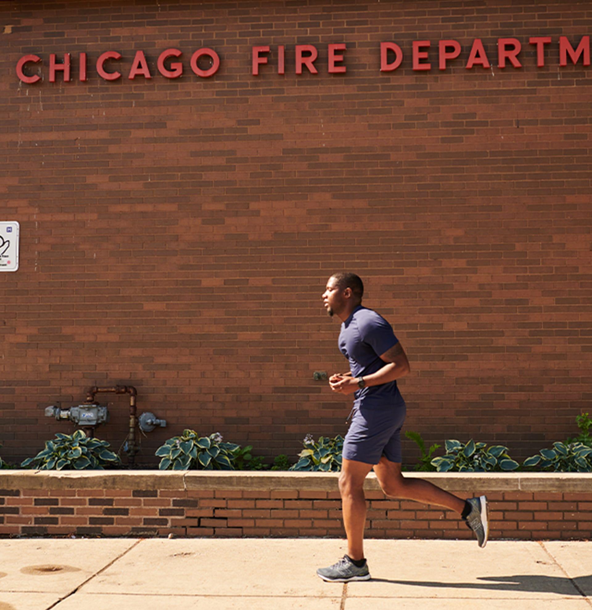Jahmal Cole running