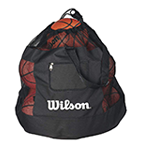 ball bag with basketballs