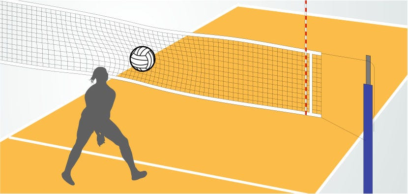 Ball At Net