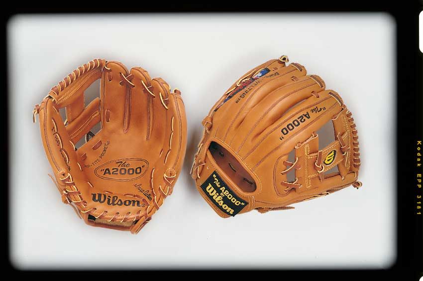 Old version of the Wilson A2000 1786 baseball glove