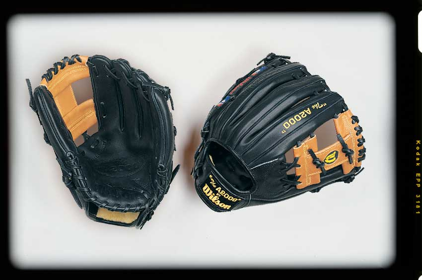 Old version of the Wilson A2000 1787 baseball glove