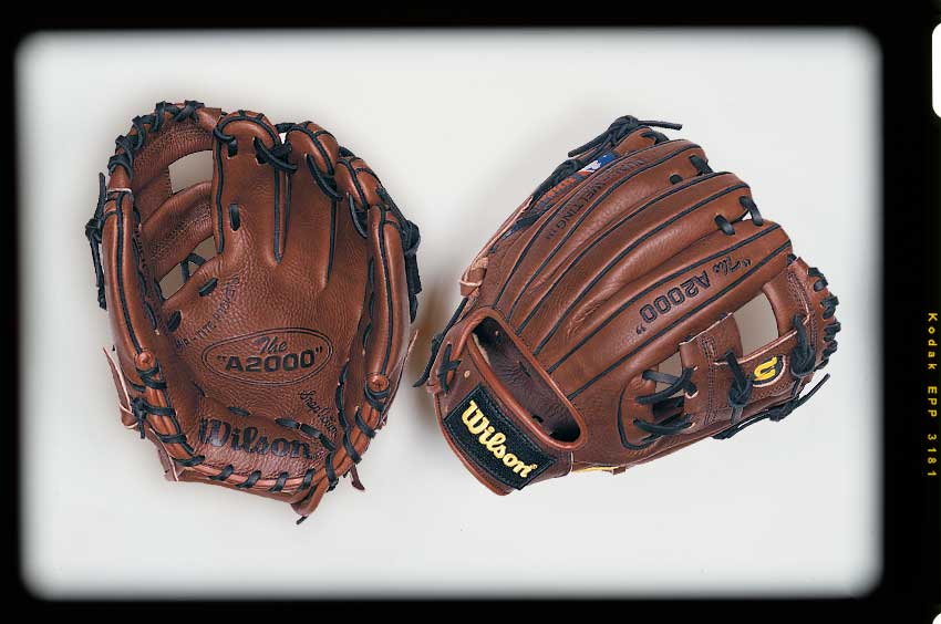 Old version of the Wilson A2000 1788 baseball glove