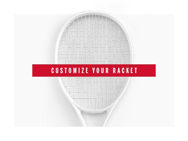 Customize your racquet
