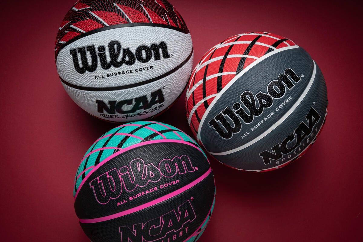 3 Wilson Basketballs