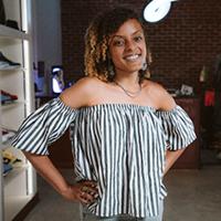 Portrait of artist Ebony Iman Dallas