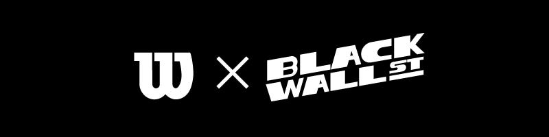 black box with white Wilson x Black Wall Street logo