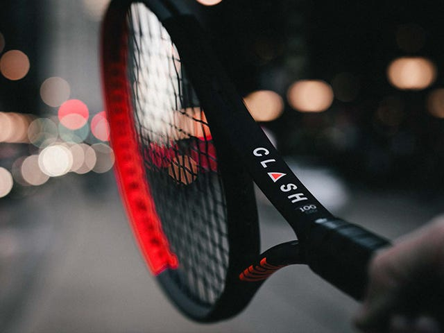 photo of a clash racket