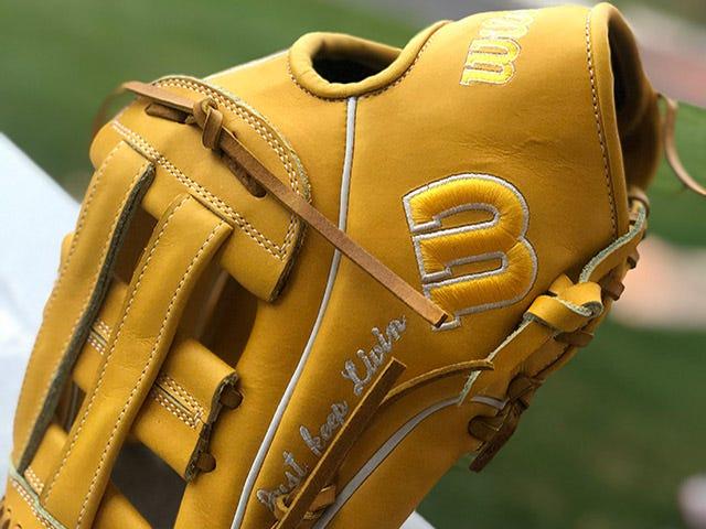 Norris's custom glove