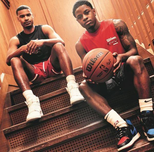 Trae young and Jamal Murray