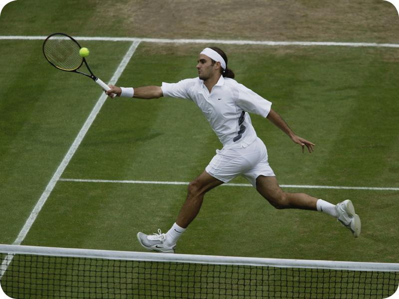 Roger Federer in Grand Slam #1