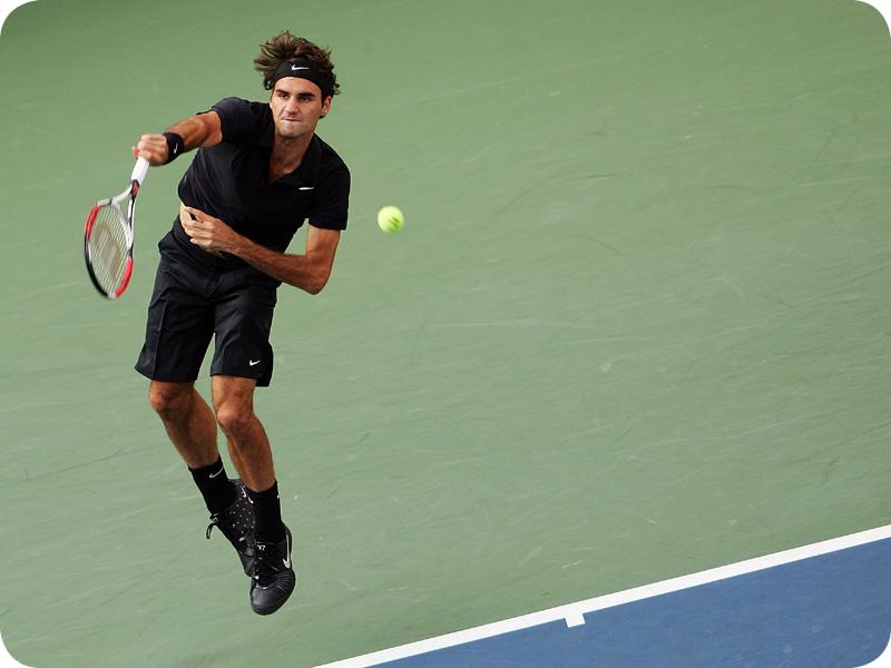 Roger Federer in Grand Slam #12
