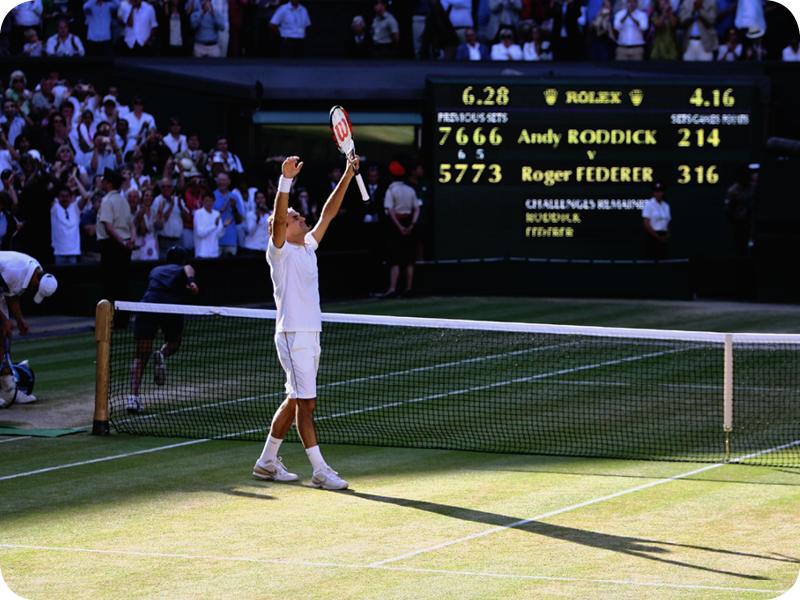 Roger Federer in Grand Slam #15